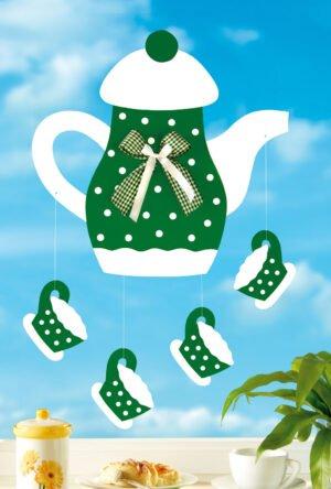 Kaffeekanne grün