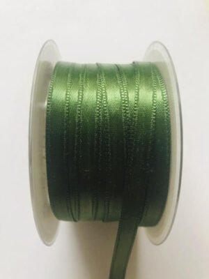 Schleifenbannd grün 3 mm