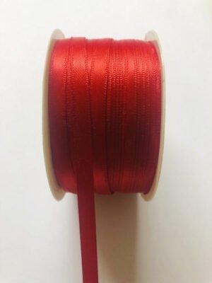 Schleifenband rot 3mm